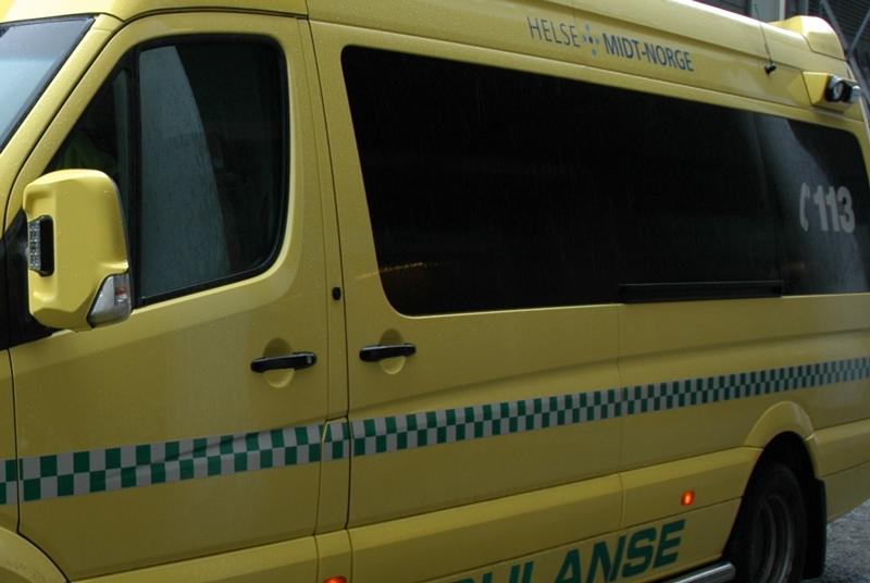 Ambulanse i Helse Midt-Norge. Foto: Live Oftedahl
