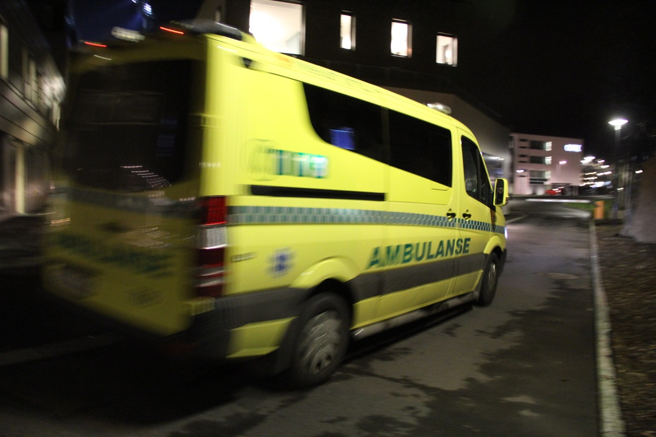 Ambulanse. Illustrasjonsfoto: Live Oftedahl