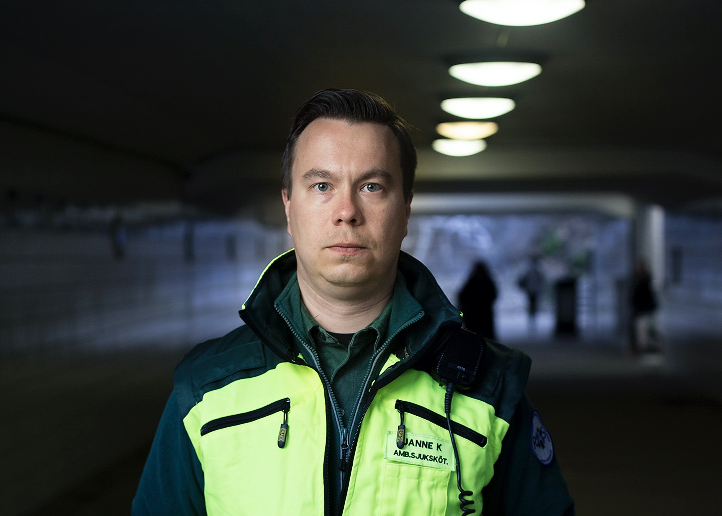 Janne Kautto forteller om utfordringer for nødetatene med vold og trusler i Sverige. Foto: Privat