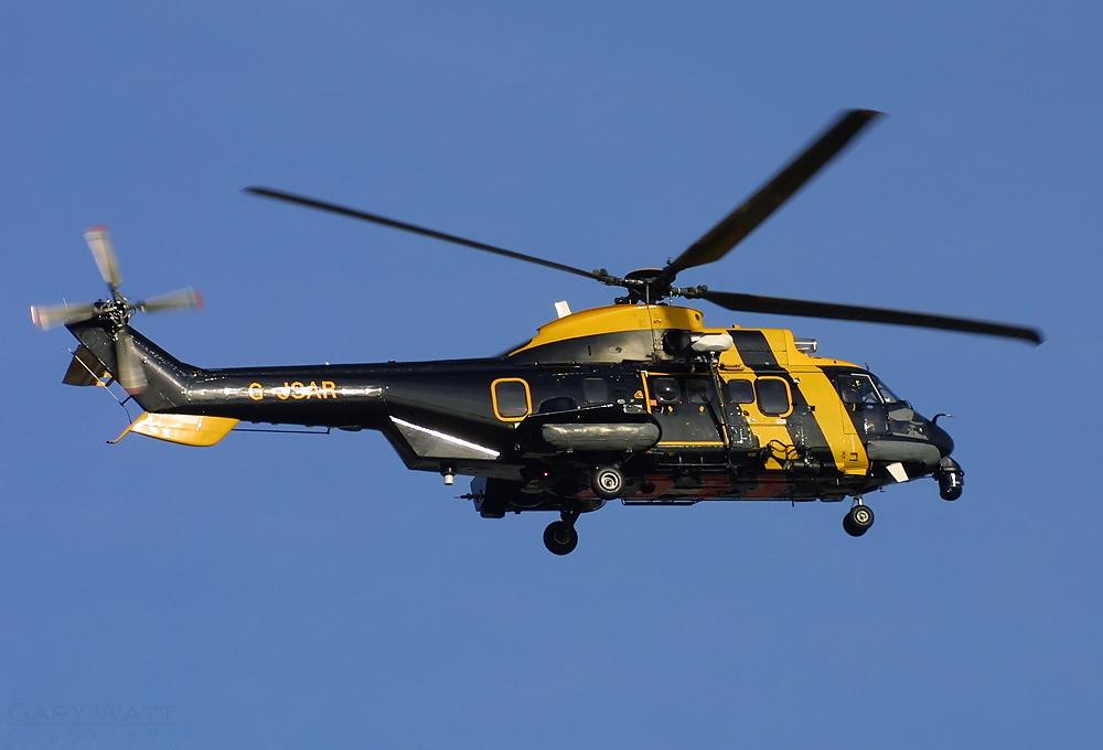 Super Puma, redningshelikopter fra 2003. Foto: Gary Watt, Wikimedia Commons