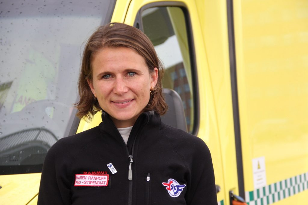 Maren Ranhoff Hov. Foto: Live Oftedahl