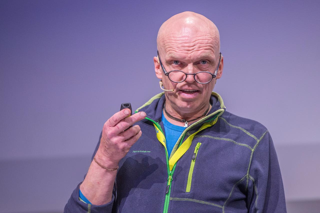 Dag Nedrejord holdt foredrag på Ambulanseforum 2016 ©Fredrik Naumann/Felix Features