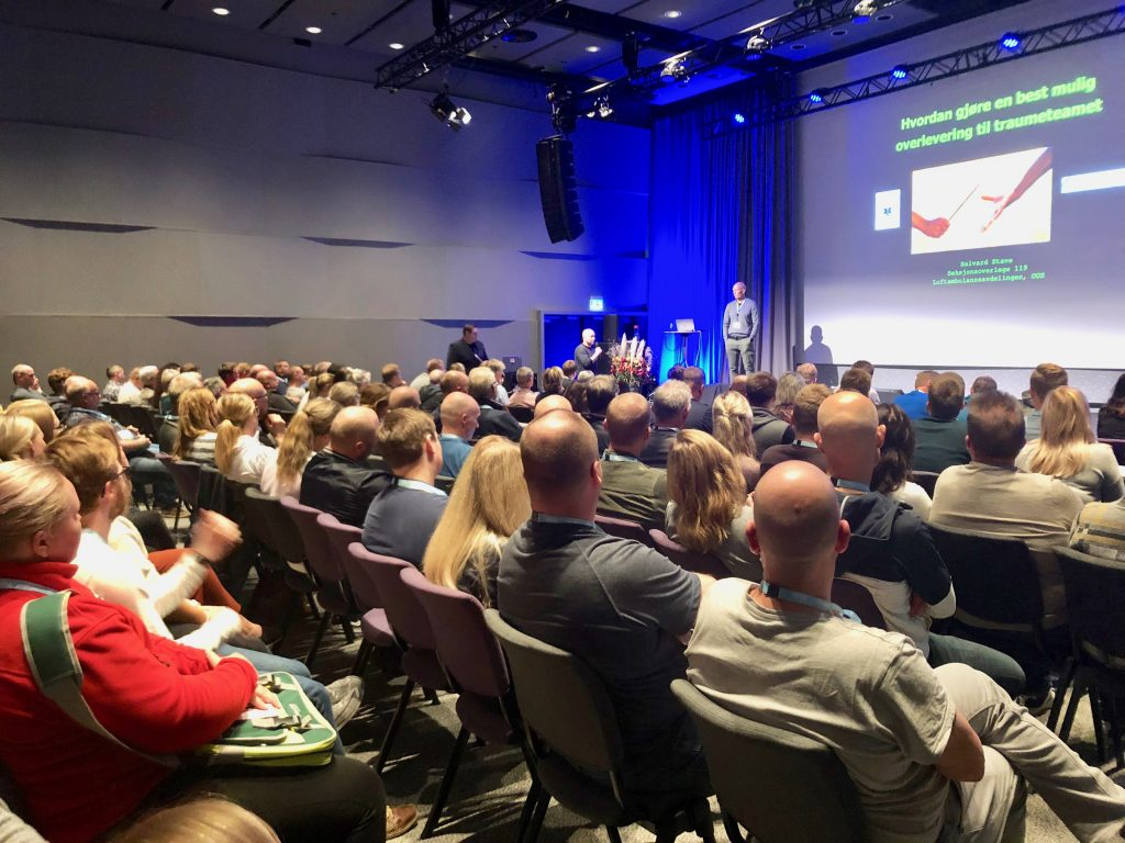På Ambulanseforum 2019