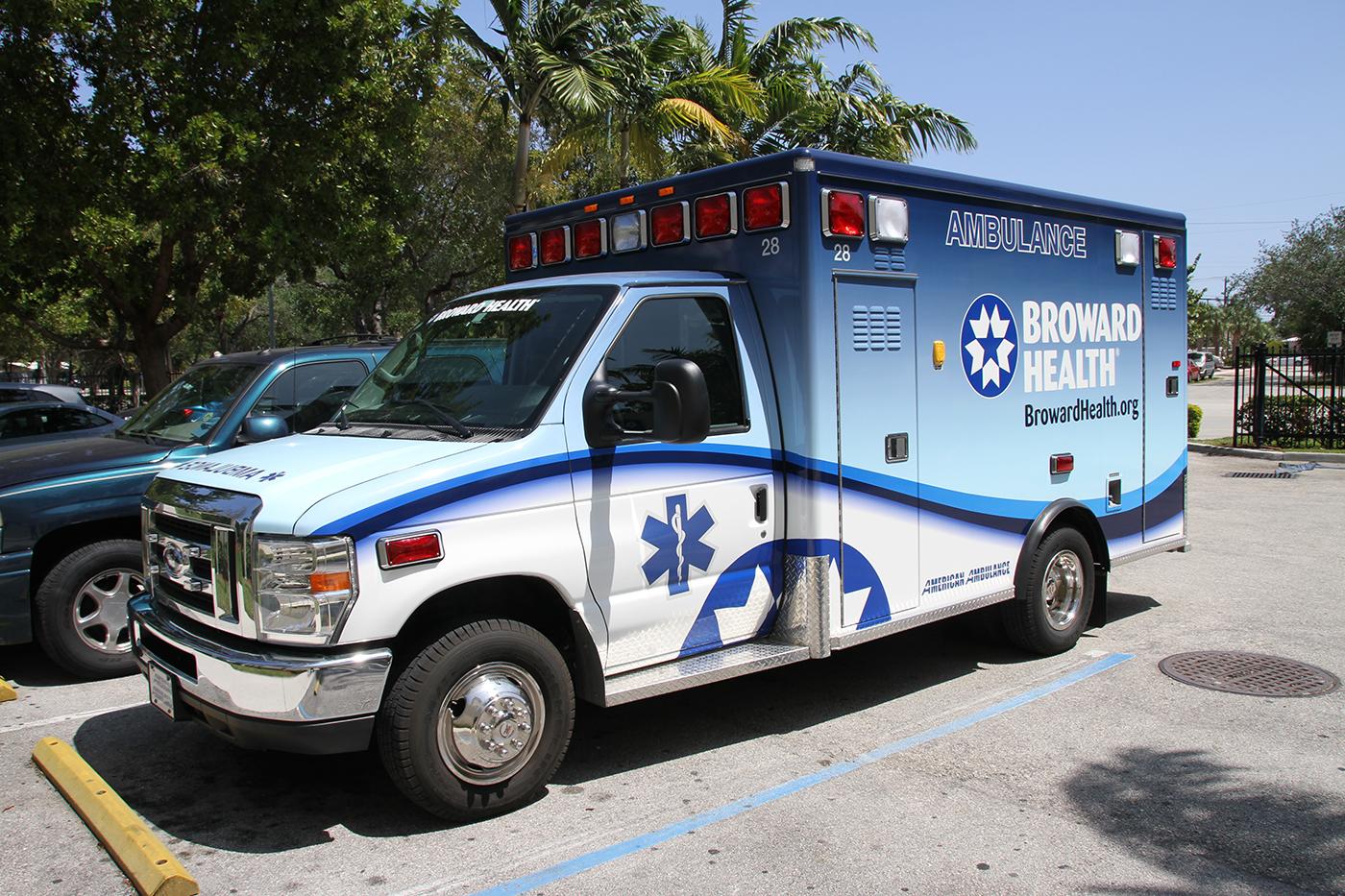 Ambulanse i Fort Lauderdale