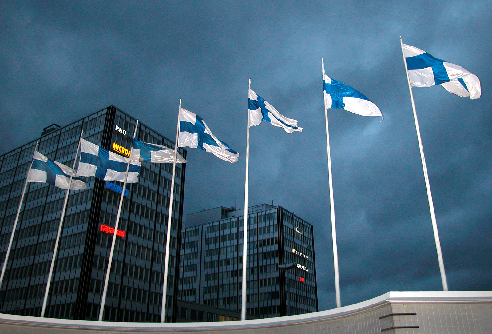 Det finske flagget