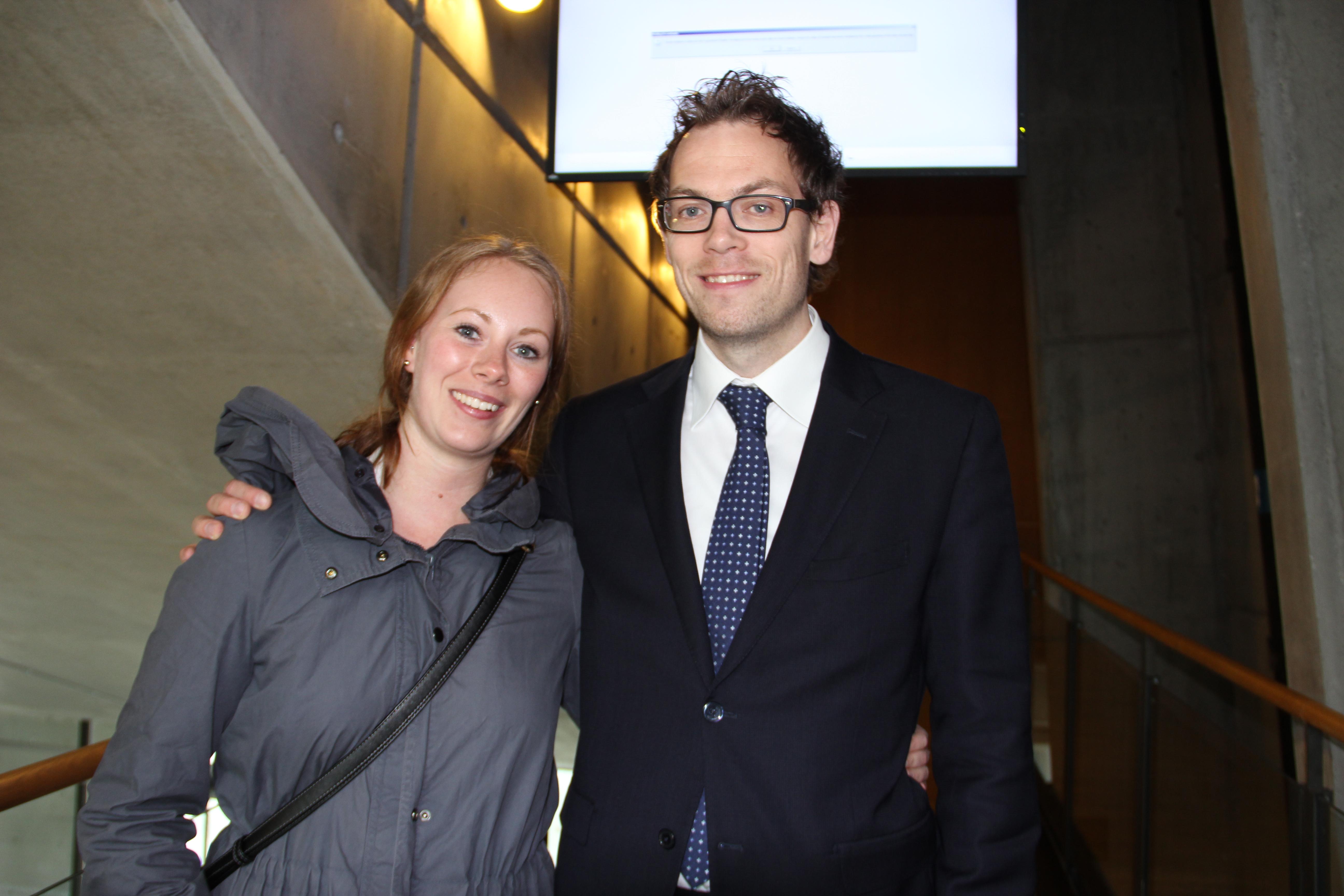 Ane (til venstre) overlevde hjertestans med pulsløs elektrisk aktivitet (PEA). Hun ble en av inspirasjonskildene til Trond Nordseths doktorgradsoppgave.