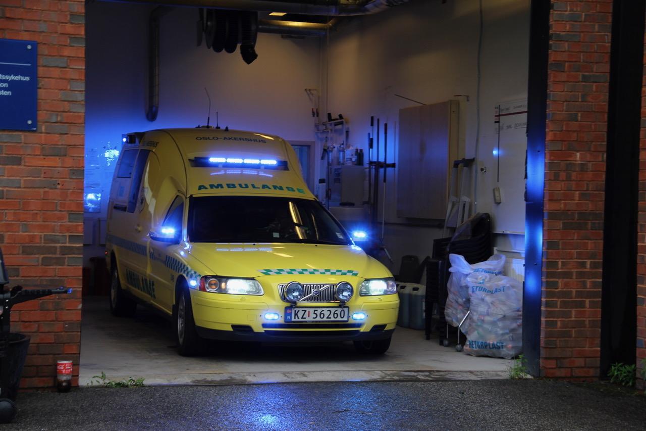 Ambulansetjenesten til Oslo og Akershus har tradisjonelt ofte kjørt mindre ambulanser. Foto: Live Oftedahl