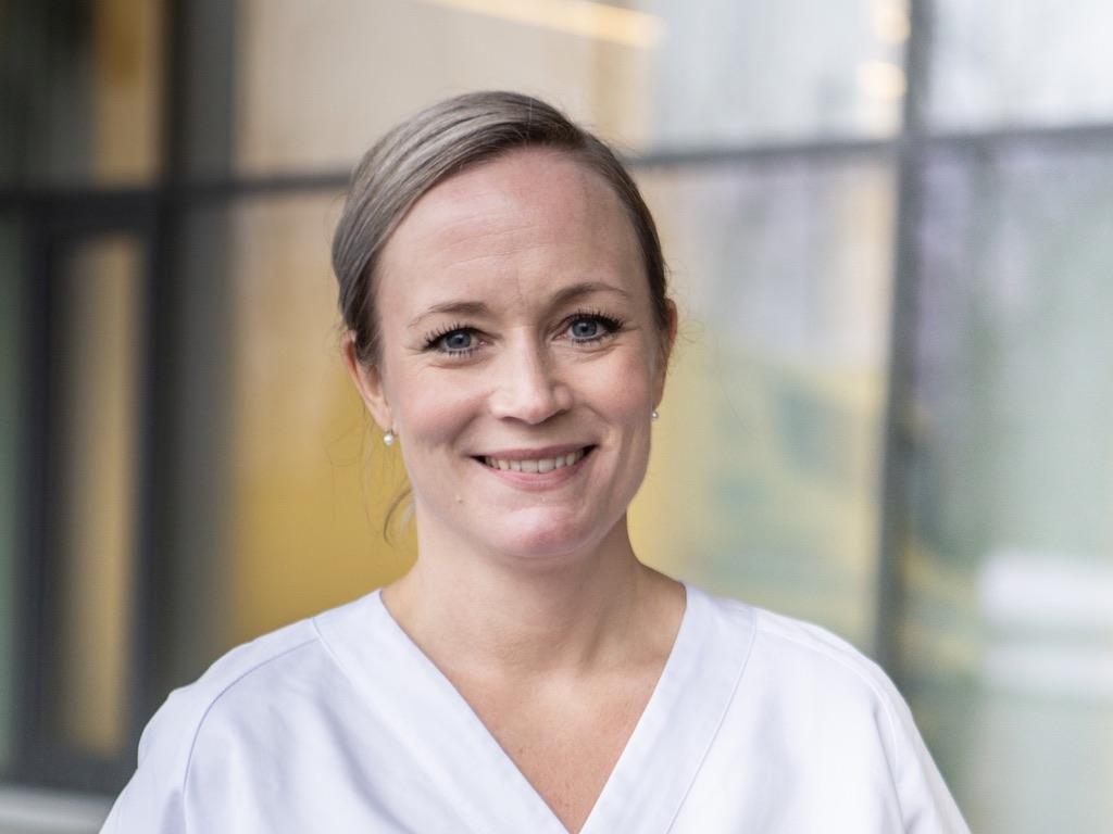 Marianne Dahlhaug, en engasjert traumekoordinator, nå daglig leder for traumeregisteret. Foto: Leikny Havik Skjærseth