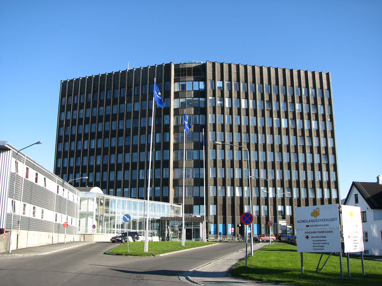 Nordlandssykehuset i Bodø.
