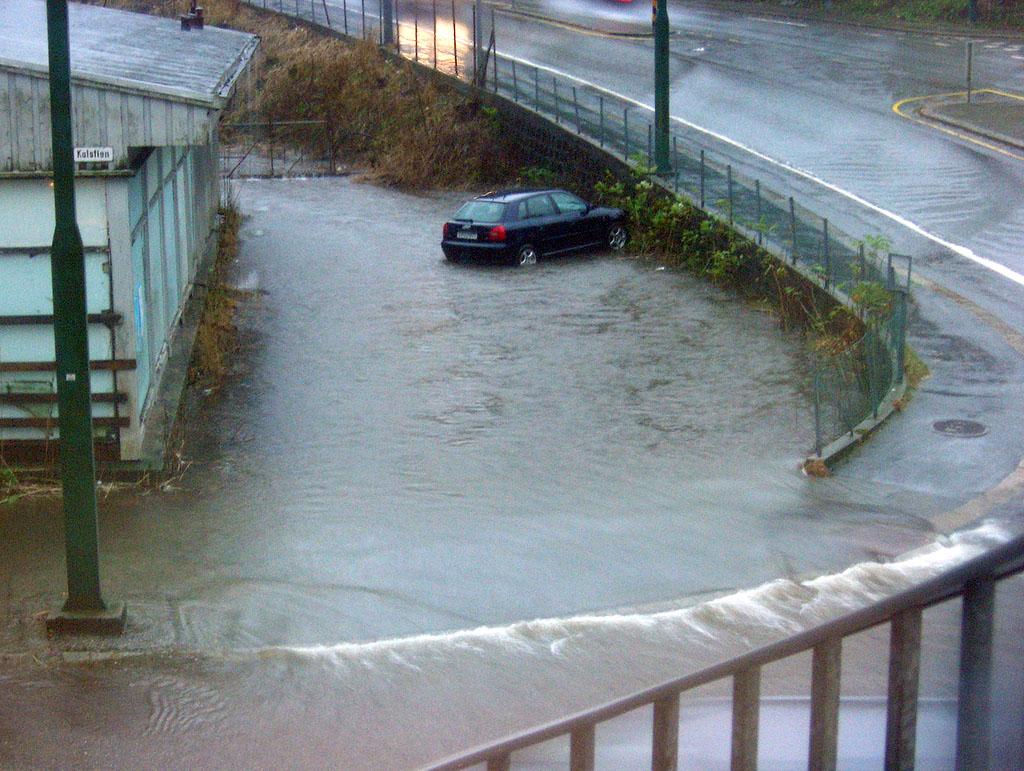 Regn i Bergen. Illustrasjonsfoto: Wikimedia Commons