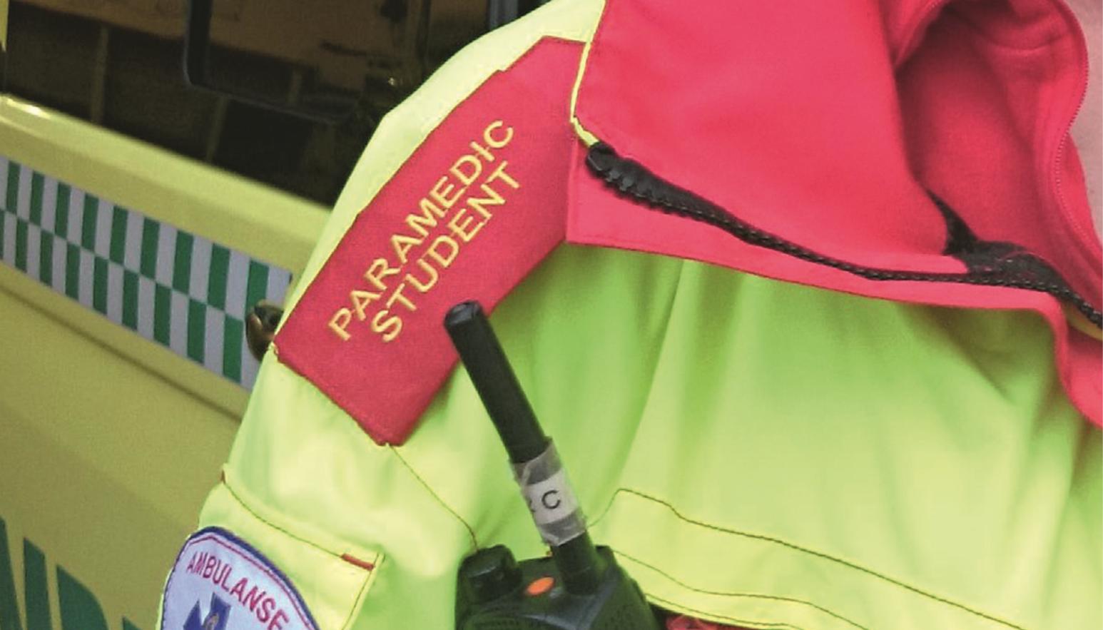 Historiske paramedicstudenter på Høgskolen i Oslo og Akershus. Foto: Trine Staff