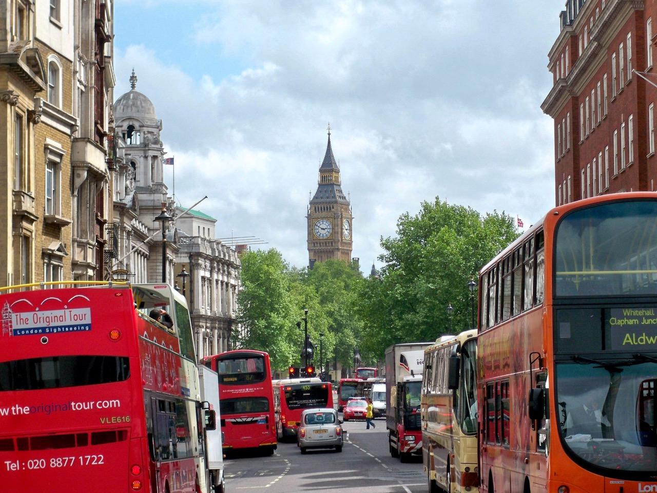 Trafikk i London