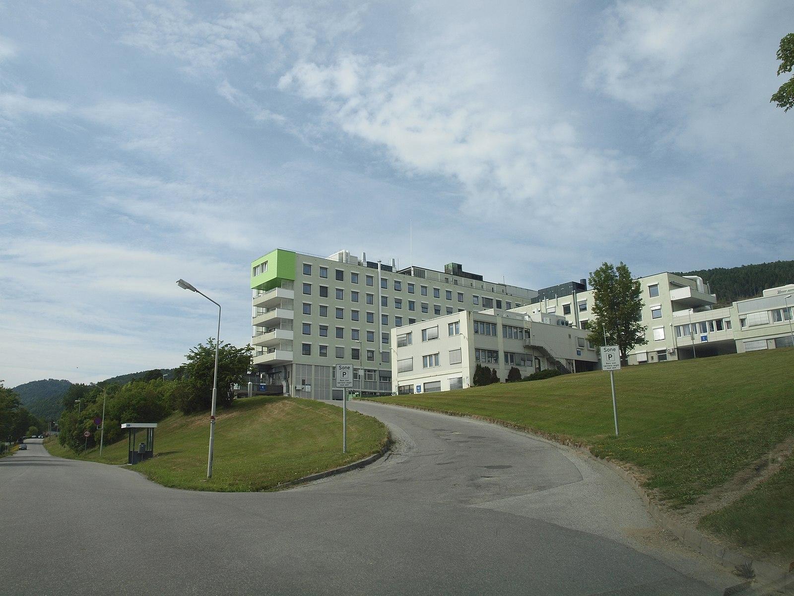 Molde sykehus. Illustrasjonsfoto: Wikimedia Commons