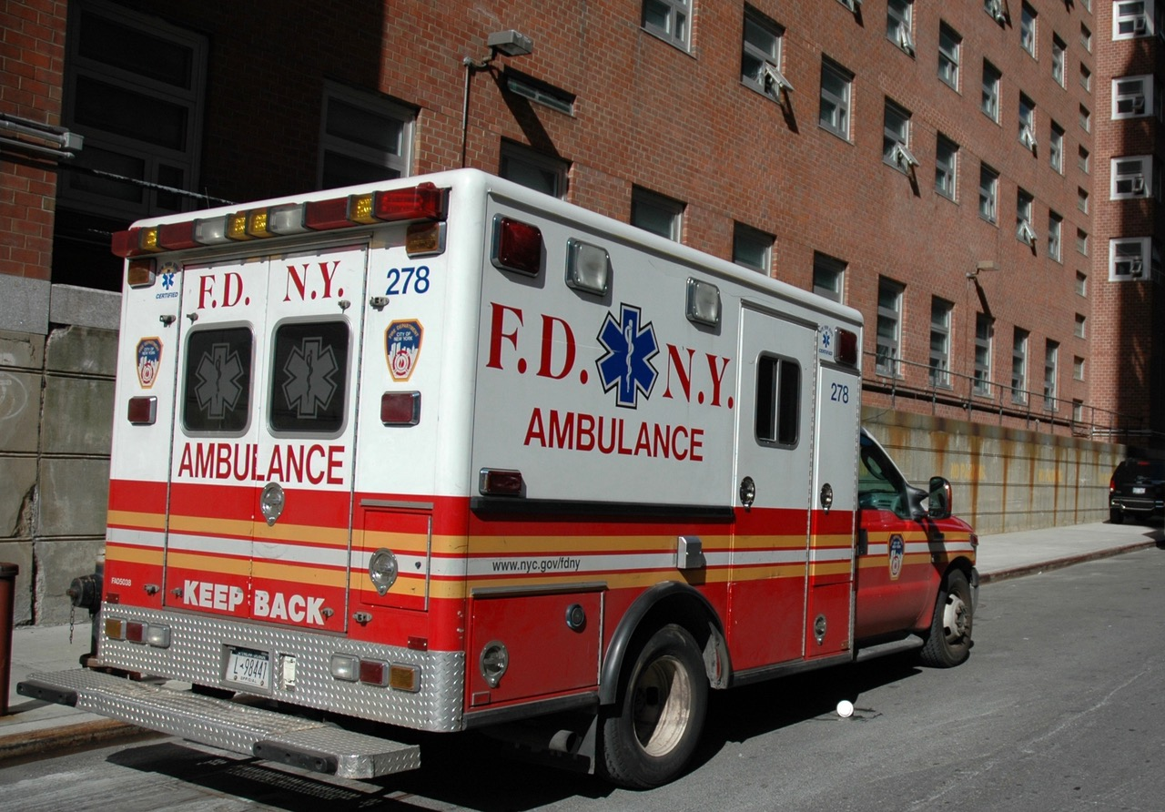 FDNY-ambulanse i New York City. Foto: Live Oftedahl