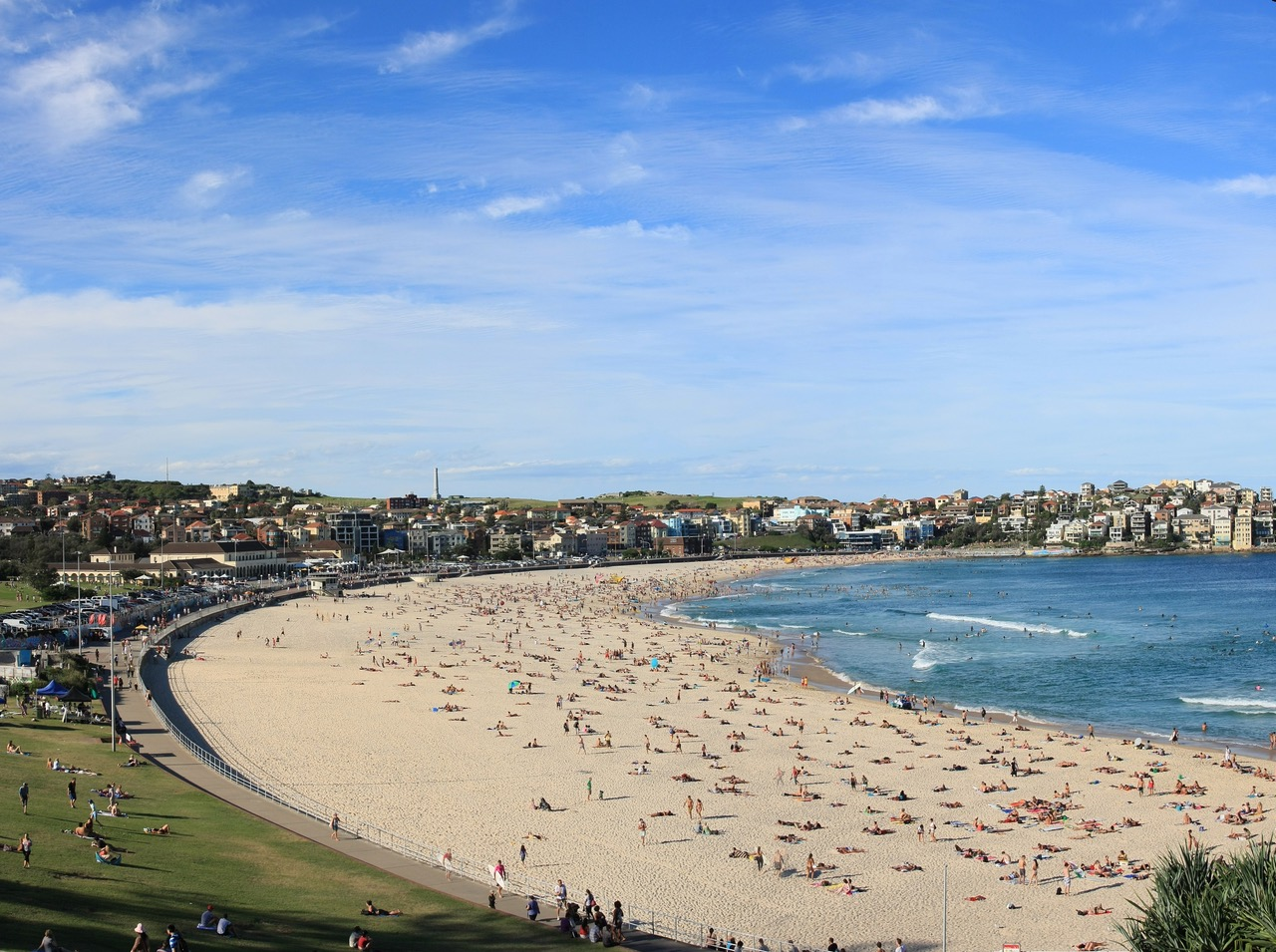 Bondi Beach er trolig Sydneys og Australias mest berømte strand. Foto: Mark Raskino