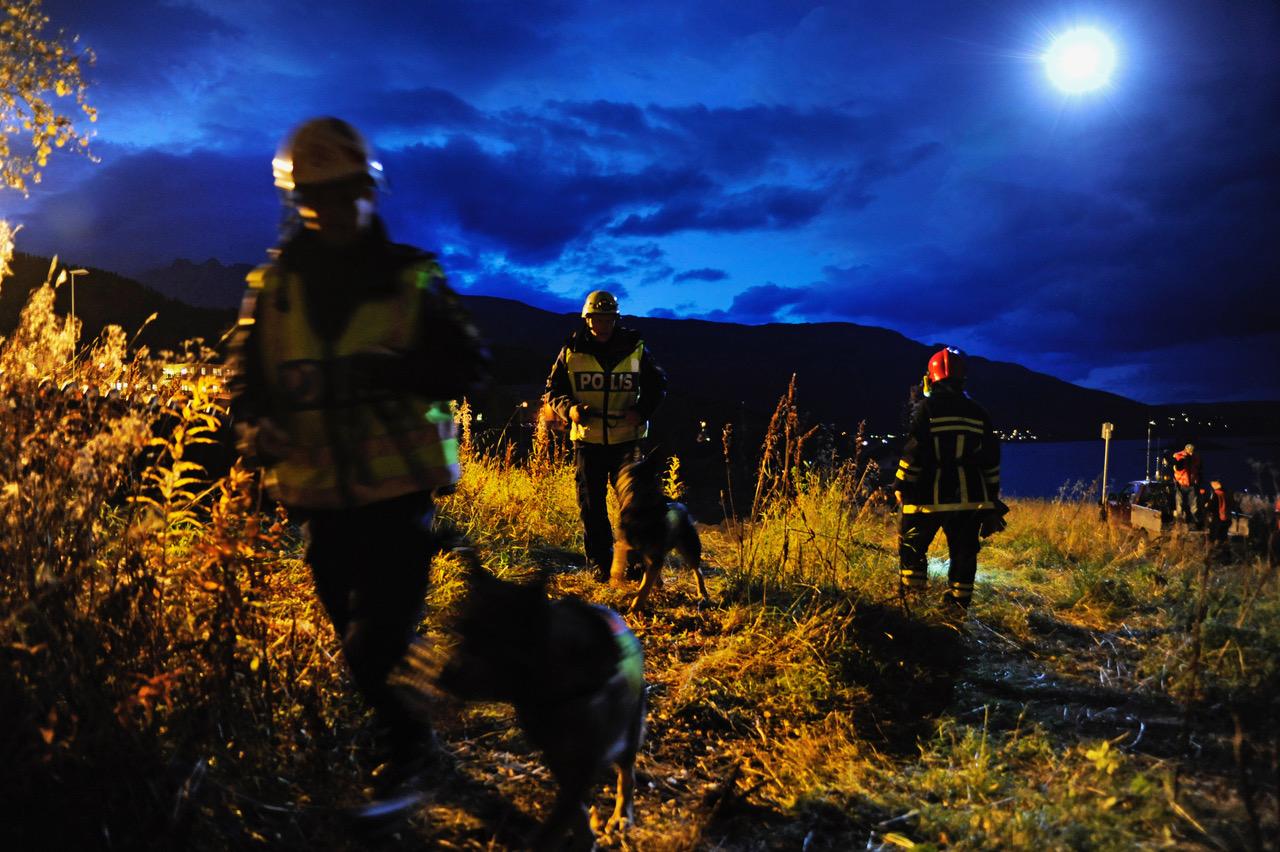 Søk fra Barents Rescue 2013. Foto: Barents Rescue