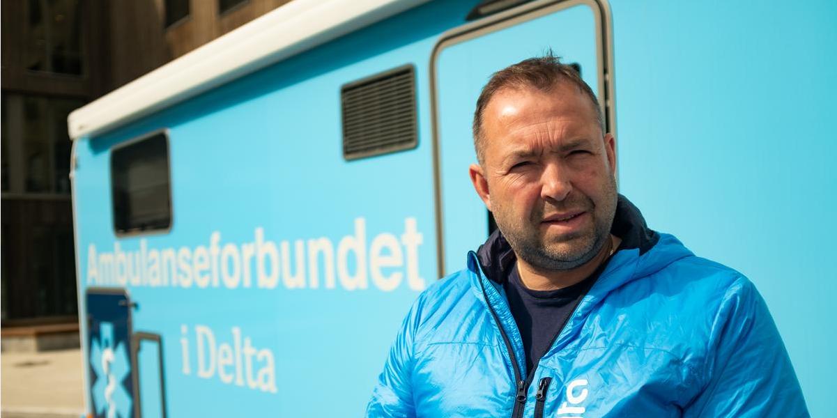 Ola Yttre. Foto: Ambulanseforbundet i Delta