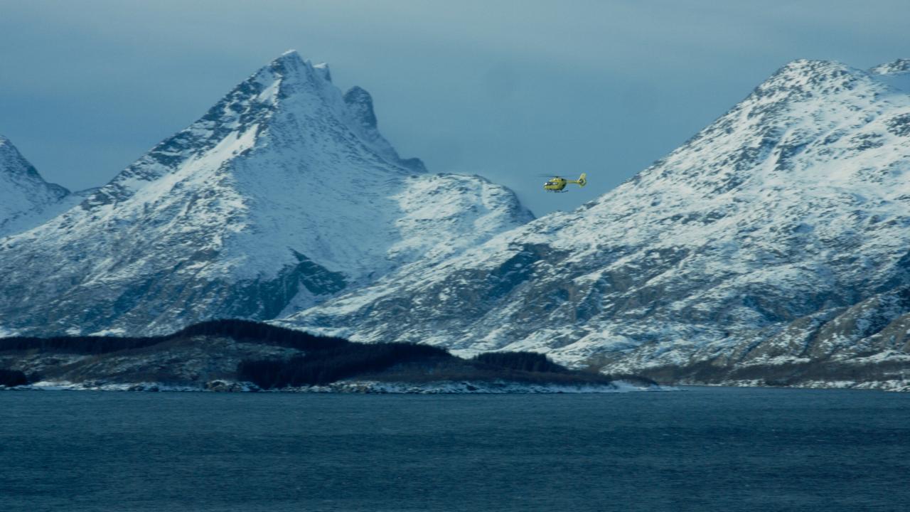 Helgelandssykehuset har et legehelikopter stasjonert i Brønnøysund.